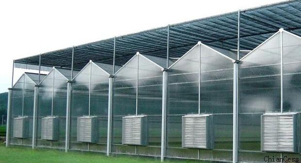 高温天气对于pc阳光板温室大棚如何进行降温